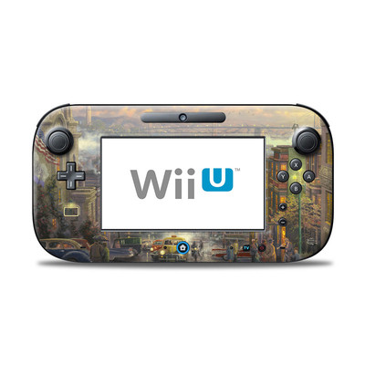 Wii U Controller Skin - Heart of San Francisco