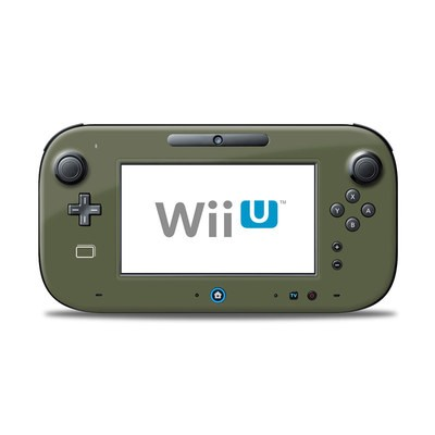 Wii U Controller Skin - Solid State Olive Drab