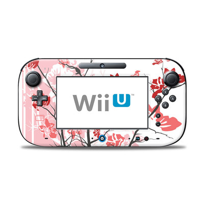 Wii U Controller Skin - Pink Tranquility