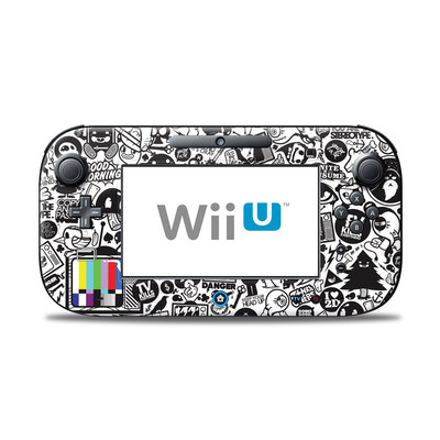 Wii U Controller Skin - TV Kills Everything