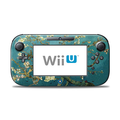 Wii U Controller Skin - Blossoming Almond Tree
