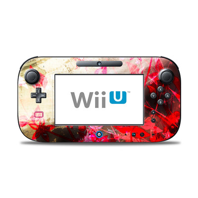 Wii U Controller Skin - Woodflower