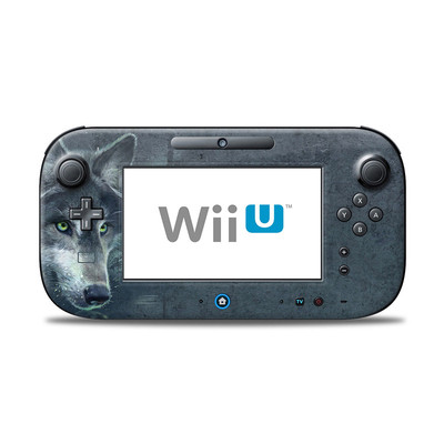 Wii U Controller Skin - Wolf Reflection
