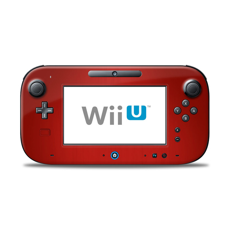 Wii U Controller Skin Red Burst Decalgirl