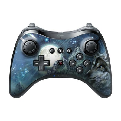 Nintendo Wii U Pro Controller Skin - Bark At The Moon