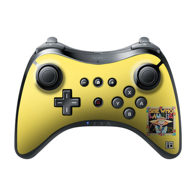 Nintendo Wii U Pro Controller Skin - She Who Laughs