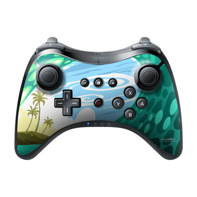 Nintendo Wii U Pro Controller Skin - Lunch Break