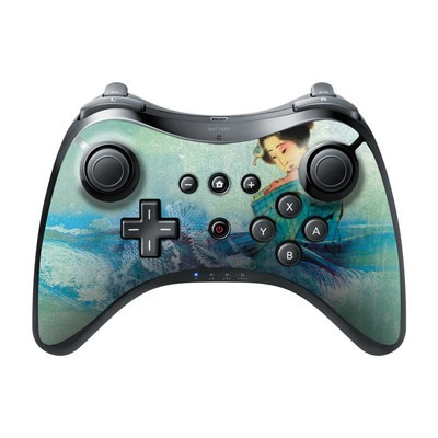 Nintendo Wii U Pro Controller Skin - Magic Wave