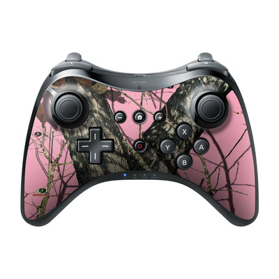 Nintendo Wii U Pro Controller Skin - Break-Up Pink