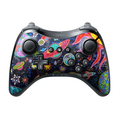 Nintendo Wii U Pro Controller Skin - Out to Space