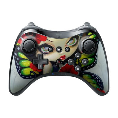 Nintendo Wii U Pro Controller Skin - Poppy Magic