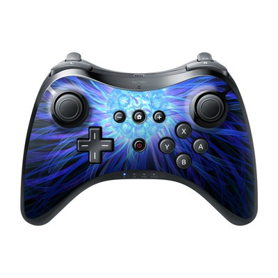 Nintendo Wii U Pro Controller Skin - Something Blue