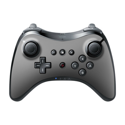 Nintendo Wii U Pro Controller Skin - Solid State Grey