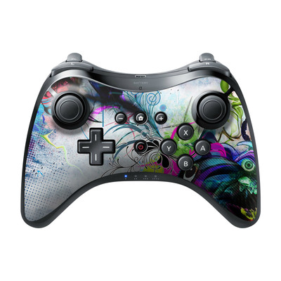 Nintendo Wii U Pro Controller Skin - Streaming Eye