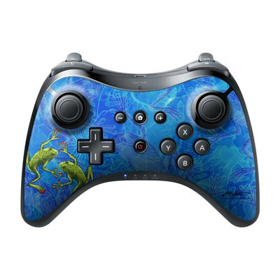 Nintendo Wii U Pro Controller Skin - Tiger Frogs