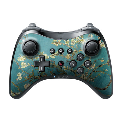 Nintendo Wii U Pro Controller Skin - Blossoming Almond Tree