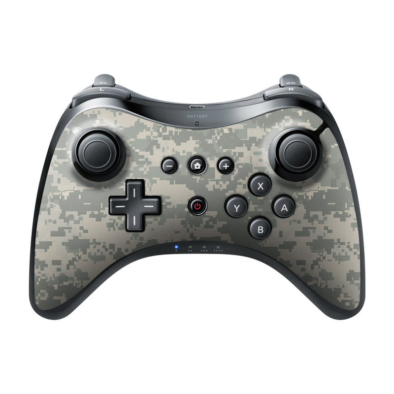 nintendo wii u pro controller skin acu camo by camo. Black Bedroom Furniture Sets. Home Design Ideas