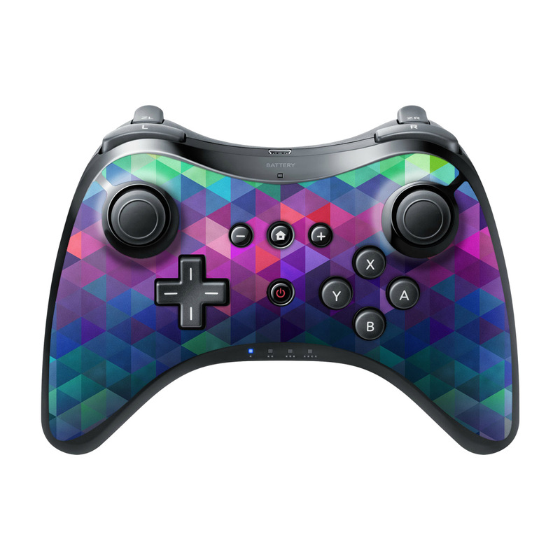 nintendo wii u pro controller skin charmed by fp decalgirl. Black Bedroom Furniture Sets. Home Design Ideas