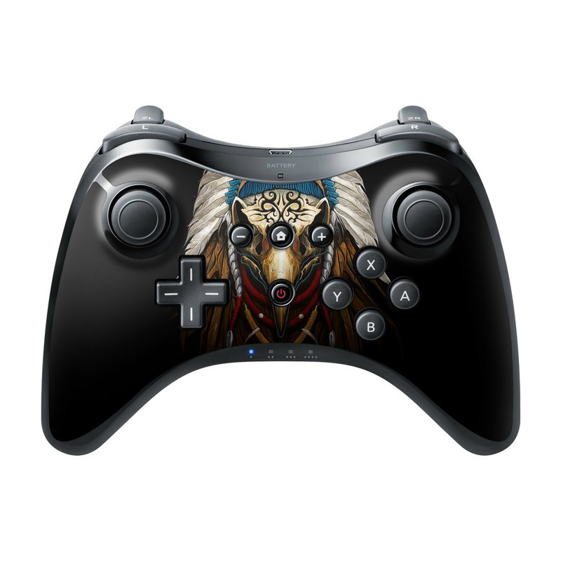 Eagle Skull By Abrar Ajmal: Nintendo Wii U Pro Controller Skin