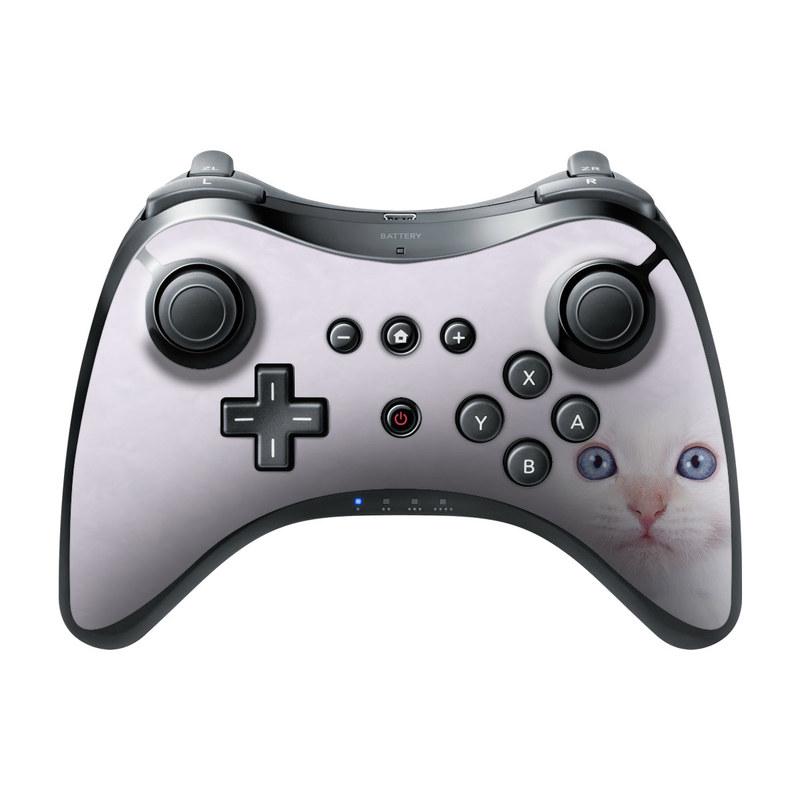 Nintendo Wii U Pro Controller Skin - White
