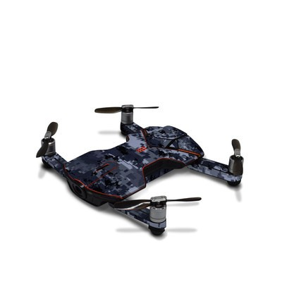 Wingsland S6 Skin - Digital Navy Camo