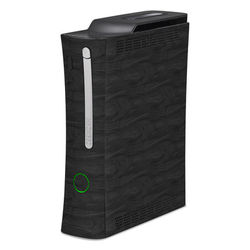 Xbox 360 Skin - Black Woodgrain