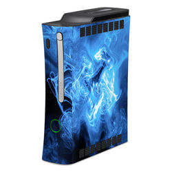 Xbox 360 Skin - Blue Quantum Waves