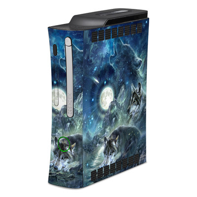 Xbox 360 Skin - Bark At The Moon