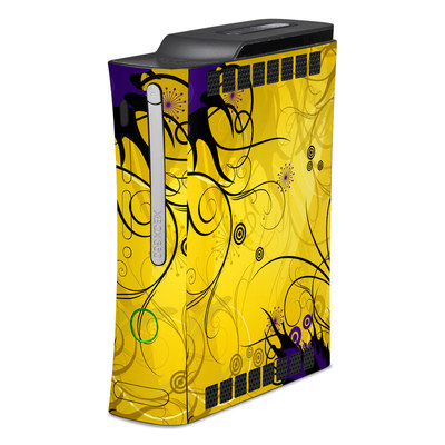 Xbox 360 Skin - Chaotic Land