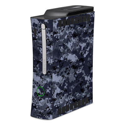 Xbox 360 Skin - Digital Navy Camo
