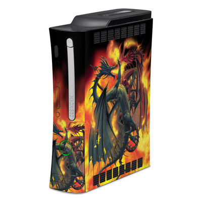 Xbox 360 Skin - Dragon Wars