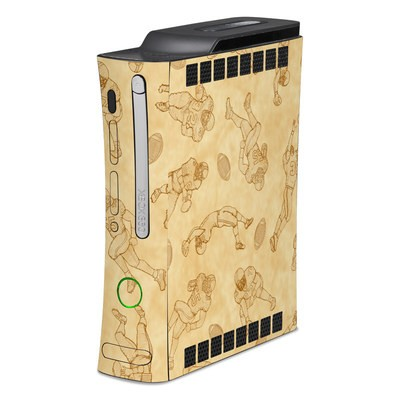 Xbox 360 Skin - Football Sketches