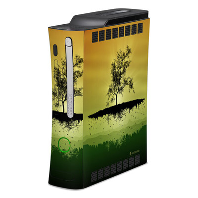 Xbox 360 Skin - Flying Tree Amber
