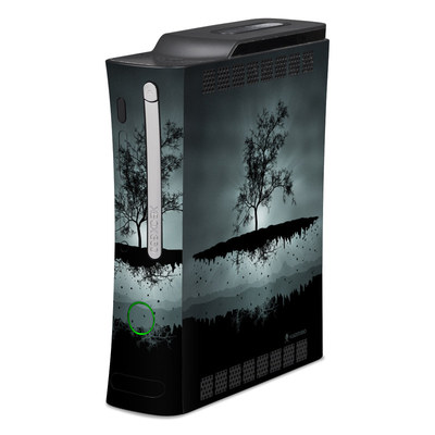 Xbox 360 Skin - Flying Tree Black