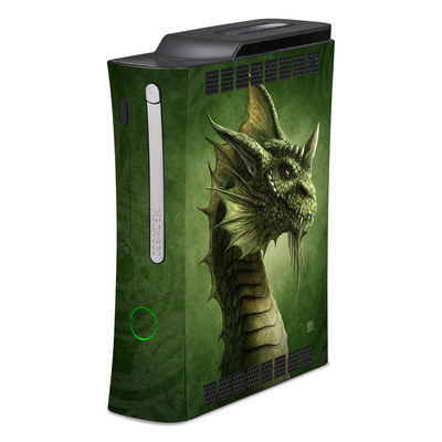 Xbox 360 Skin - Green Dragon