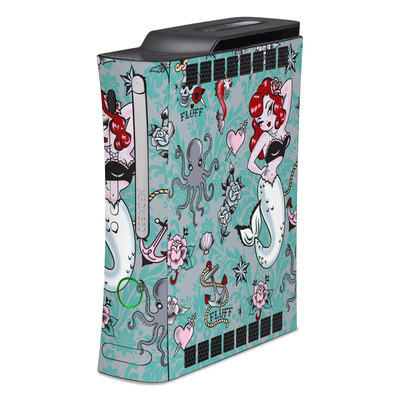 Xbox 360 Skin - Molly Mermaid