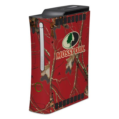 Xbox 360 Skin - Break-Up Lifestyles Red Oak