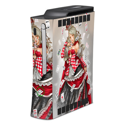 Xbox 360 Skin - Queen Of Cards