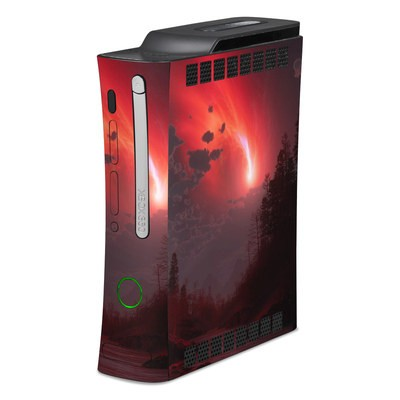Xbox 360 Skin - Red Harbinger