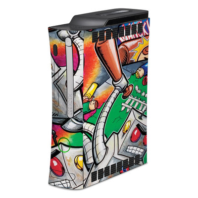 Xbox 360 Skin - Robot Beatdown