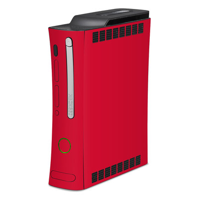 Xbox 360 Skin - Solid State Red