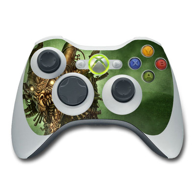 Xbox 360 Skin - Steampunk Dragon