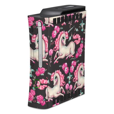 Xbox 360 Skin - Unicorns and Roses