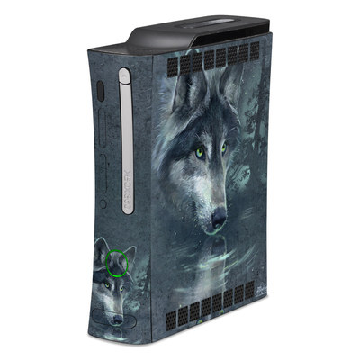 Xbox 360 Skin - Wolf Reflection