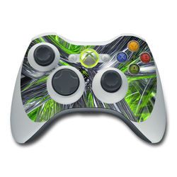 Xbox 360 Controller Skin - Emerald Abstract