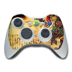 Xbox 360 Controller Skin - Dragon Legend