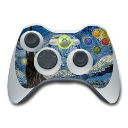 Xbox 360 Controller Skin - Starry Night