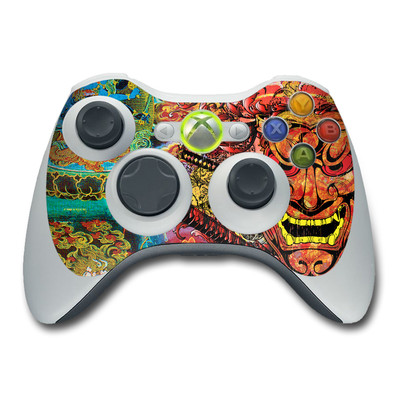 Xbox 360 Controller Skin - Asian Crest