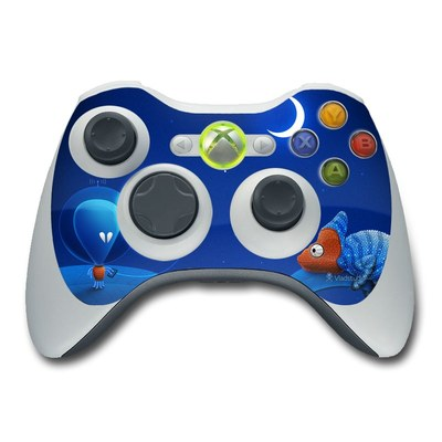 Xbox 360 Controller Skin - Alien and Chameleon