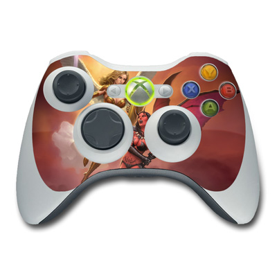Xbox 360 Controller Skin - Angel vs Demon